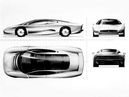 1988 Jaguar XJ220 Concept 8