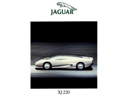 1988 Jaguar XJ220 Concept 9