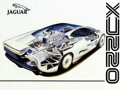 1988 Jaguar XJ220 Concept 10