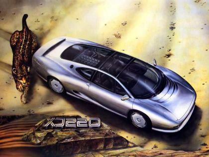 1988 Jaguar XJ220 Concept 11