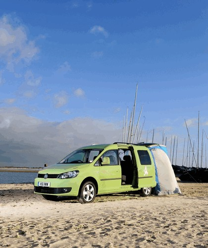 2013 Volkswagen Caddy Camper 2.0 TDI BlueMotion - UK version 9