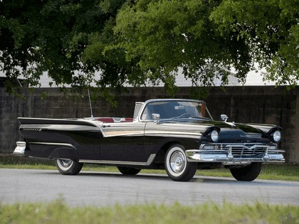 1957 Ford Fairlane 500 Skyliner retractable hardtop 10