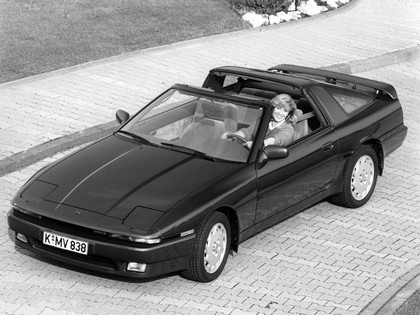 1986 Toyota Supra ( MA70 ) targa top - Europe version 1