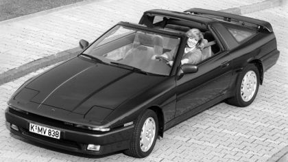 1986 Toyota Supra ( MA70 ) targa top - Europe version 9