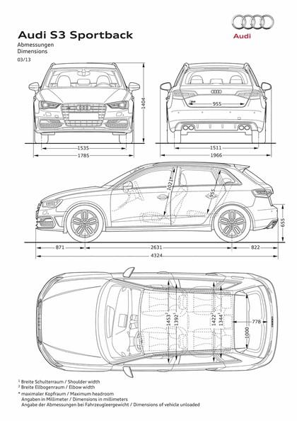 2013 Audi A3 Sportback 18