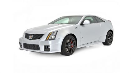 2013 Cadillac CTS-V coupé Silver Frost Edition 5