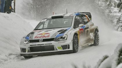 2013 Volkswagen Polo R WRC - Sweden 8