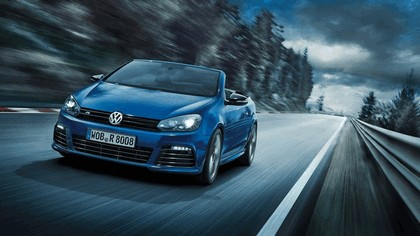 2013 Volkswagen Golf ( VII ) R cabriolet 2