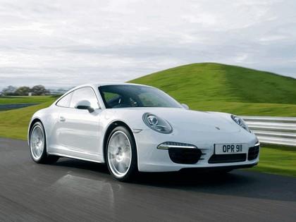 2012 Porsche 911 ( 991 ) Carrera 4 - UK version 2