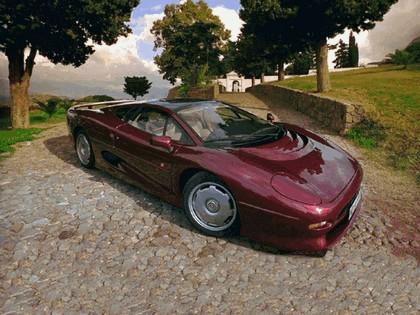 1989 Jaguar XJ220 50
