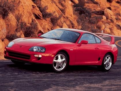 1997 Toyota Supra ( JZA80 ) turbo sport roof 15th Anniversary - USA version 1