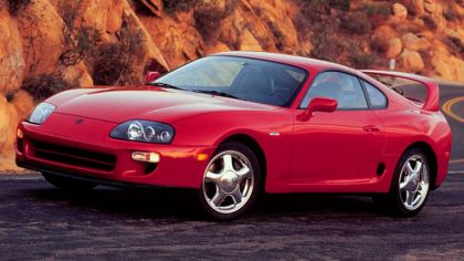 1997 Toyota Supra ( JZA80 ) turbo sport roof 15th Anniversary - USA version 4