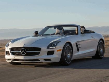 2012 Mercedes-Benz SLS 63 AMG GT roadster - USA version 2
