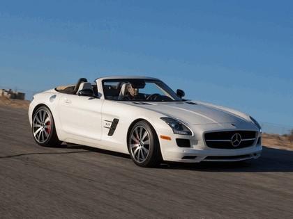 2012 Mercedes-Benz SLS 63 AMG GT roadster - USA version 4