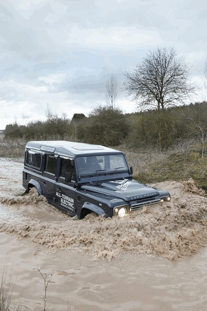 2013 Land Rover Defender - electric research vehicle 4