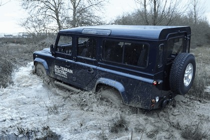 2013 Land Rover Defender - electric research vehicle 6