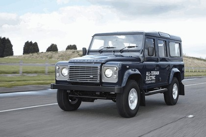 2013 Land Rover Defender - electric research vehicle 11