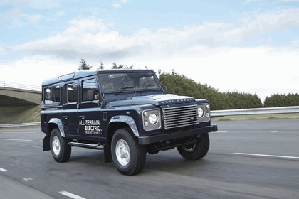 2013 Land Rover Defender - electric research vehicle 13