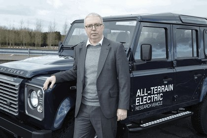 2013 Land Rover Defender - electric research vehicle 16