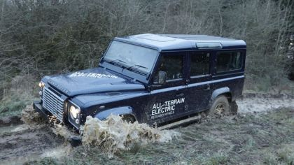 2013 Land Rover Defender - electric research vehicle 1