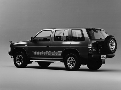 1991 Nissan Terrano 4-door Turbo R3M Selection V ( WBYD21 ) 2