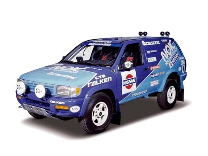 1995 Nissan Terrano ( R50 ) rally car 1