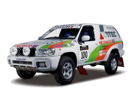 1999 Nissan Terrano ( R50 ) rally car 1