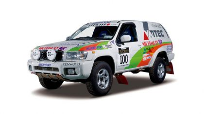 1999 Nissan Terrano ( R50 ) rally car 9