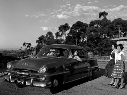 1956 Plymouth Savoy 4-door sedan 1