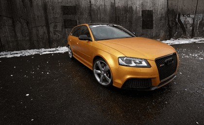 2013 Audi RS3 Gold by Schabenfolia 3