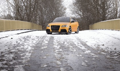 2013 Audi RS3 Gold by Schabenfolia 4