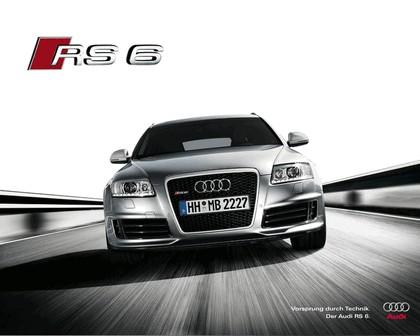 2007 Audi RS6 Avant teasers 11