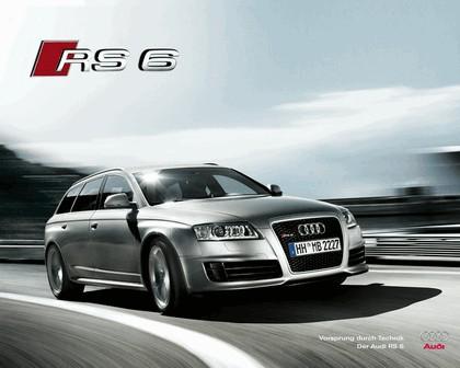 2007 Audi RS6 Avant teasers 12