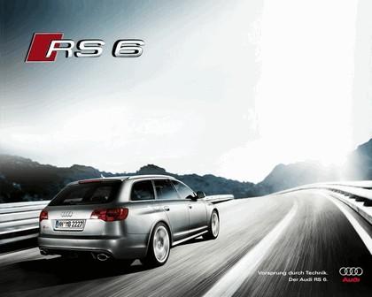 2007 Audi RS6 Avant teasers 14