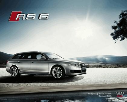2007 Audi RS6 Avant teasers 15