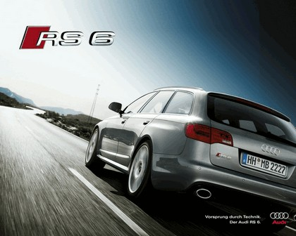 2007 Audi RS6 Avant teasers 16