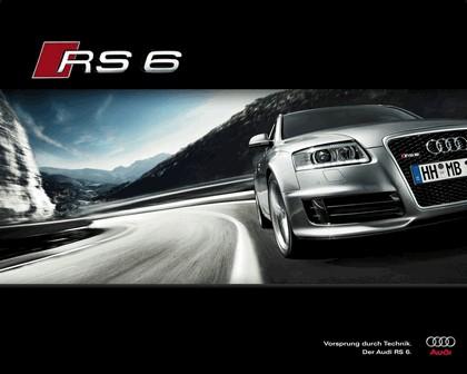 2007 Audi RS6 Avant teasers 18