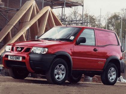 1999 Nissan Terrano II ( R20 ) Van - UK version 7