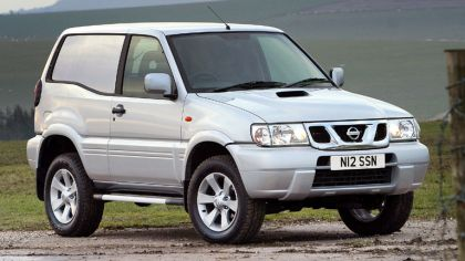 1999 Nissan Terrano II ( R20 ) Van - UK version 7