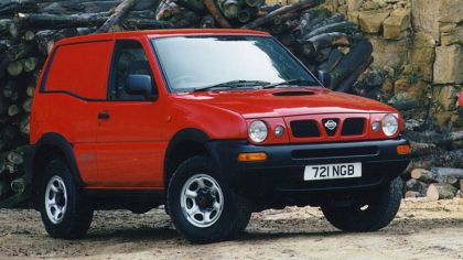 1996 Nissan Terrano II ( R20 ) Van - UK version 6