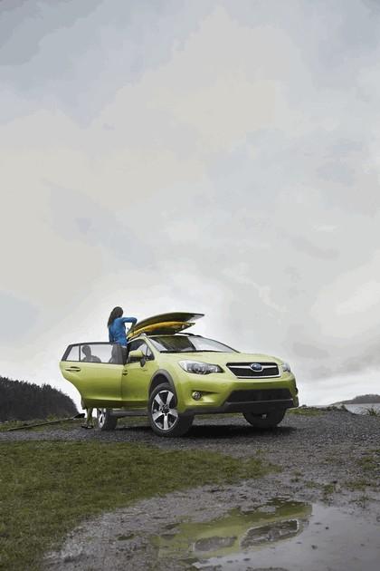 2013 Subaru XV Crosstrek Hybrid - USA version 8