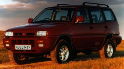 1993 Nissan Terrano II ( R20 ) 5-door - UK version 8