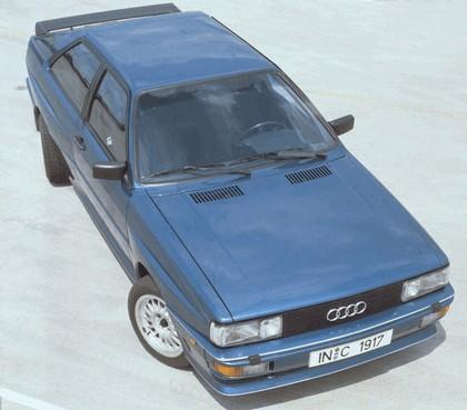 1984 Audi Quattro Coupé 4WS concept 1