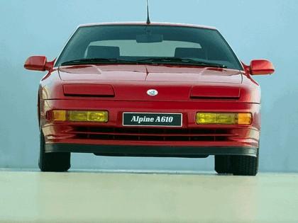 1991 Alpine A610 4
