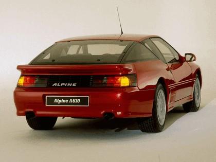 1991 Alpine A610 5