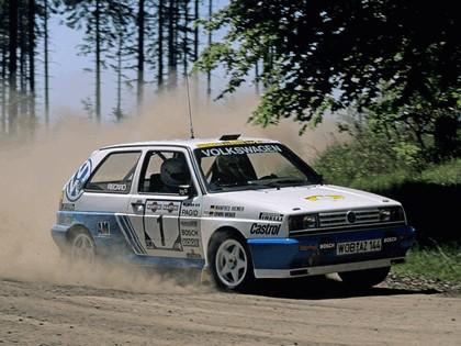 1990 Volkswagen Golf Rallye G60 rally car 3