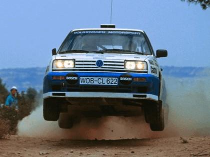 1990 Volkswagen Golf Rallye G60 rally car 4