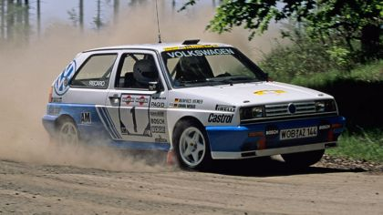 1990 Volkswagen Golf Rallye G60 rally car 1