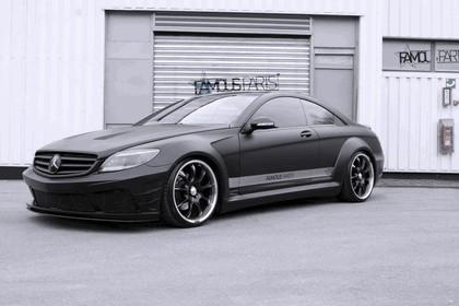 2013 Mercedes-Benz CL500 Premium Black Matte Edition by Famous Parts 1
