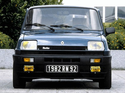 1982 Renault 5 Alpine Turbo 3